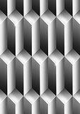 Parallelepipeds Metal Background