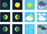 Weather. Icons