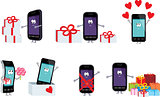 Smartphones in a gift.