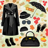 Autumn fashion set