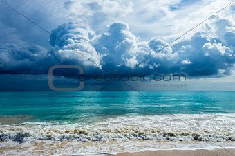 Storm Clouds At Waimanalo