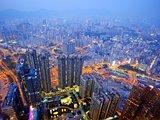 Kowloon, Hong Kong Cityscape