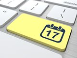 Desktop Calendar Icon.