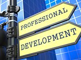 Business Concept. Professional Development Sign.