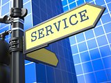 Business Concept. Service Sign.