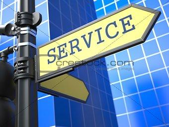 Business Concept. Service Sign.
