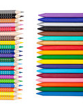 Various colorful pencils and markers