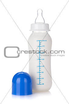 Baby bottle for boy