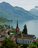 the lake Lucerne