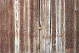Old Wooden Door with Lock