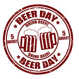 Beer day  stamp