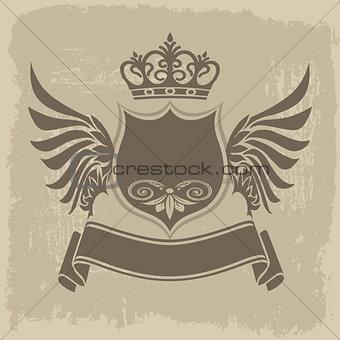 Heraldic grunge