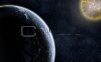 Planet and a Star