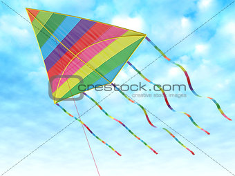 Children's toy - a kite
