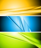 Colourful abstract vector banners