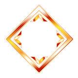 Vector modern orange shape
