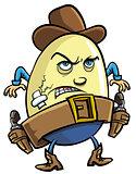 Cowboy egg