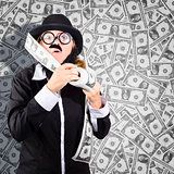 Counterfeit printing rolls of American money
