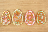 Easter gingerbread