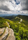 Blue Ridge Parkway Craggy Gardens Asheville NC Vacation Destination Scenic View