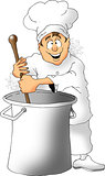 Stirring Chef