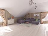 Interior l attic