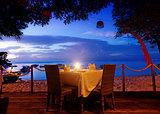 dinner on sunset