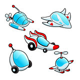 Funny spaceships