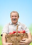 Harvesting a apple