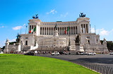 Vittorio Emanuele Monument on Piazza Venezia
