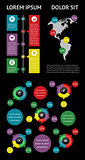 Infographics and web elements. EPS10 vector illustration.Infographics and web elements. EPS10 vector illustration.