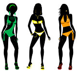Swimsuit Silhouettes 2