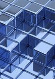 Blue Cubes
