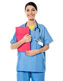 Medical specialist with prescripton report