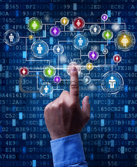 Business network in the digital age