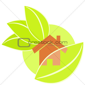 Home green illustration