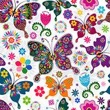 Seamless spring pattern