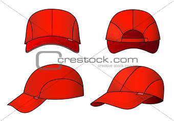 Cap vector illustration