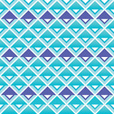 Tribal aztec blue and purple squares seamless pattern