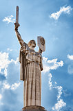 Monument in Kiev - Rodina - Mother