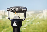 Binoculars to observe green city