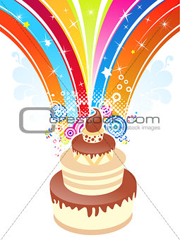 abstract birthday background