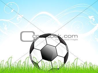abstract football concept