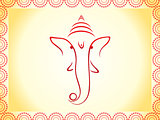 abstract ganesha wallpaper