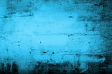 Grunge blue home background