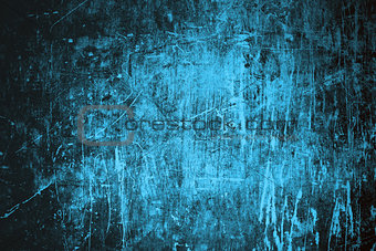 Grunge blue home background