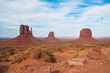 View of Monument Valley from Jhon Ford Point.
