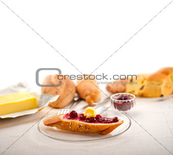 bread butter and jam