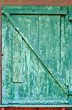 cracked old door