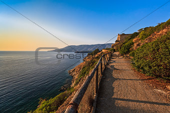 path to Porto Azzuro